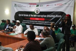 Special forum of the Anti-Corruption Situation Room held on the 20th of September at the Yar'adua Centre, Abuja.