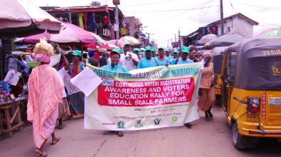 Voters Awareness and Education rally for small scale farmers in Lagos state