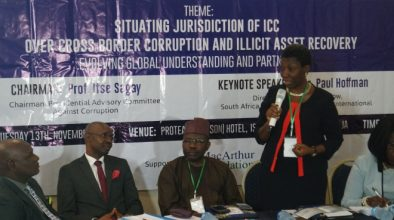 COMMUNIQUÉ AT THE END OF INTERNATIONAL CONFERENCE   ON JURISDICTION OF INTERNATIONAL CRIMINAL COURT (ICC) AND CROSS-BORDER CORRUPTION/ILLICIT ASSET RECOVERY